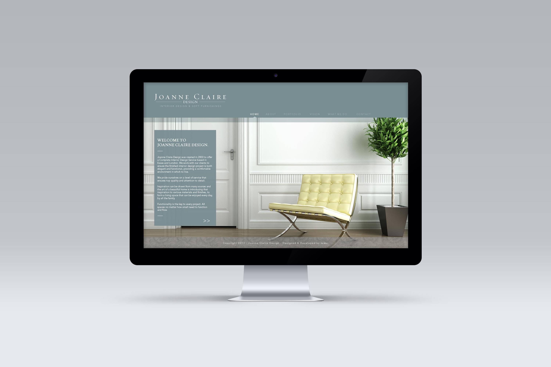 Joanne Claire Design \ Web Design