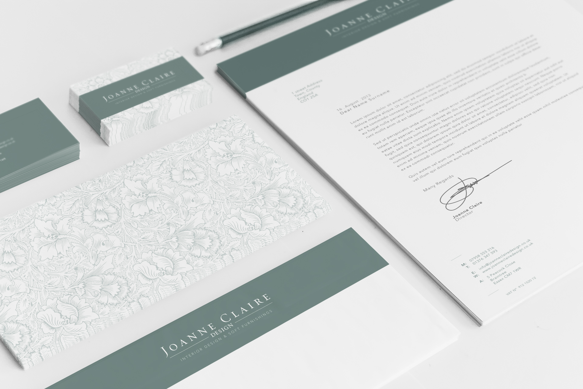 Joanne Claire Design \ Stationery Design & Print