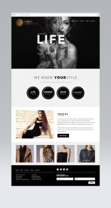 Coco-Couture Web Design