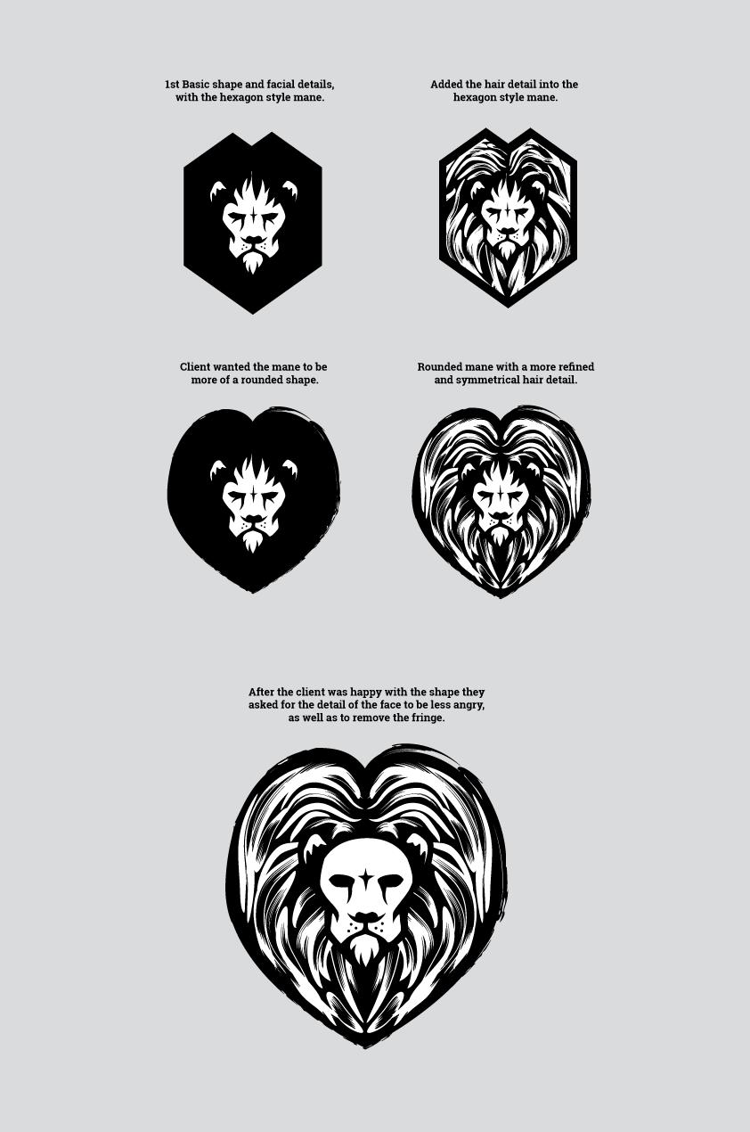 Leo Qwest, Logo Design Development