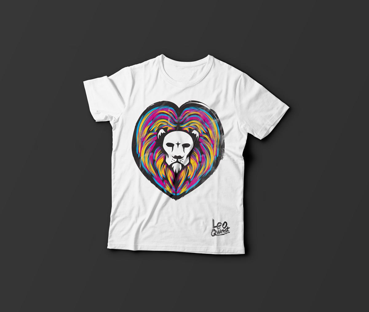Leo Qwest, T-shirt Design