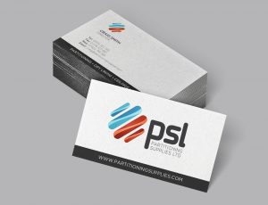 Partitioning supplies Ltd, Stationery Design