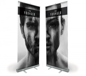 The Younger Pop-up Banner Design and Print